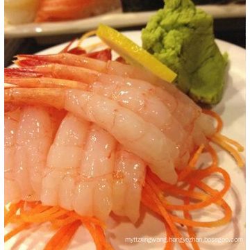 Cold water shrimp for sushi